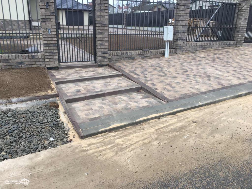 плитка тротуарная под проект